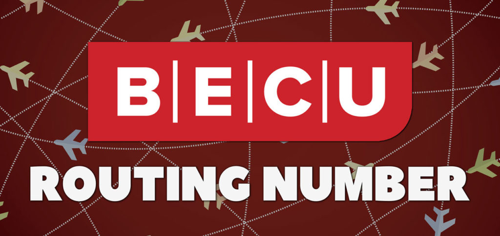 BECU Routing Number